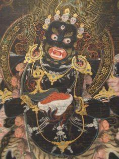 Mahakala, Wrathful Deity