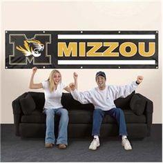 Missouri Tigers Giant 8 x 2 Banner $59.99