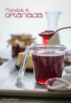 Manzana&Canela: Mermelada de granada (Thermomix)