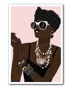 Oliver Gal Fashion Girl XOXO Print | zulily