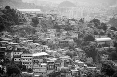 Buildings of Favela Santa Marta