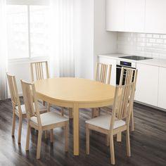 bjursta utdragbart bord ikea vardagsrum uppe matplats pinterest vardagsrum. Black Bedroom Furniture Sets. Home Design Ideas