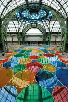 Monumenta 2012 Daniel Buren (Paris - installation)