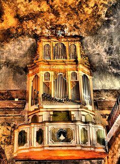 Órgano de la Iglesia de Santo Domingo. Dalt Vila (Ibiza)
