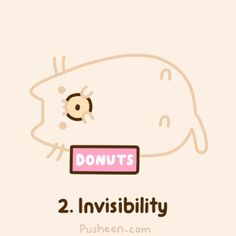 Invisible Pusheen
