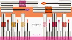YVES SAINT LAURENT MAKEUP new Volupté Tint in Oil spring 2015 in 8 shades