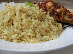 Coconut Basmati Rice (Makes enough for 5adults) My Modern take on the Nigerian style Coconut rice. Ingredients: 1Table spoon Virgin coconut oil ¼ cup red onion (chopped) 2 cups coconut milk 2 cubes...