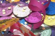 Mardi Gras crafts for kids, via DLTK