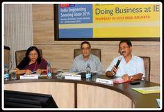 Mr. P.K. Bhaumik, Foreign Trade Development Officer, DGFT, Kolkata addressing the audience