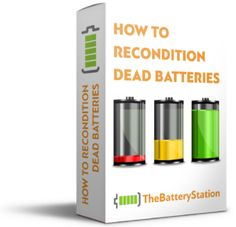 How to Recondition ANY battery - The DIY Battery Reconditioning Station