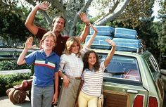 National Lampoon's Vacation (1983) - The Griswolds drive cross-country to spend their family vacation at Walley World. Laughter ensues. The sight of Aunt Edna on the roof of the station wagon in the rain gets me every time.