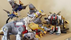 Finally completed DX9's Dinobot sets and it feels good