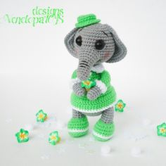 Elephant Amigurumi Pattern