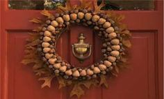 Video: How to Make a Harvest Wreath  This really is the easiest wreath I've ever made. There are lots variations as well.