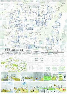 距離感の編集された世界, Hiroyuki Kurachi(Kyoto Institute of Technology)/Japan