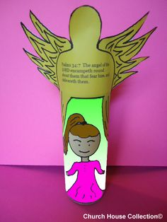 Church House Collection Blog: Angel Of The Lord Toilet Paper Roll Craft