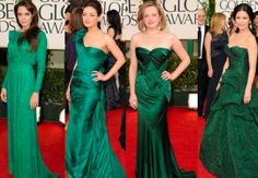 Even the red carpet is going green this year #emerald #Pantone #2013ColorOfTheYear