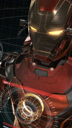 Iron Man 3D wallpaper…