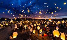 9. The Lantern Fest, Colorado Chinese Lantern Festival, Sky Lanterns, Paper Lanterns, Wedding Anniversary Celebration, Chinese Lanterns, Big Sky, Night Skies, Kentucky, Utah