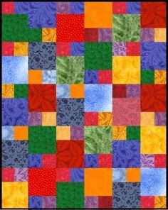 """""""the district"""" layer cake quilt"""