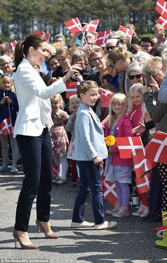 Reines & Princesses: Baptême du ferry Princesse Isabella, Saelvig