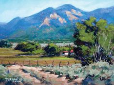 Art Workshops instructor & Santa Fe, New Mexico artist, Mike Mahon, paints family portraits and landscapes in oil and pastel of Texas and Ne...