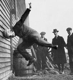 """""""W T Warren Testing Helmet 1912"""""""