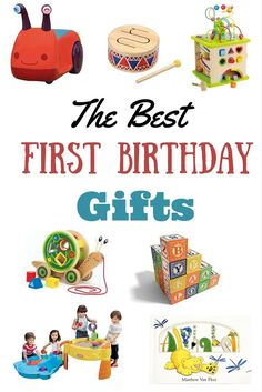 The Best First Birthday Gifts That AREN'T Toys