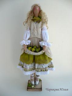 Tilda u stilu Bohoa Bjd Dolls, Doll Toys, Handmade Dresses, Handmade Dolls, Doll Maker, Waldorf Dolls, Hello Dolly, Soft Dolls, Fabric Dolls