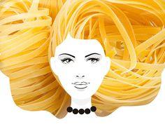 Pasta  hair !