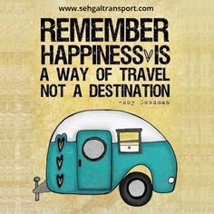 Happiness is a direction, not a place. Get #TravelGuides with #SehgalTransport goo.gl/aCy0zs