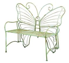 This Butterfly Garden Bench will look great in a favourite space at your place. It's a very good price point too.
