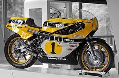 YAMAHA YZF500 0W48 1980