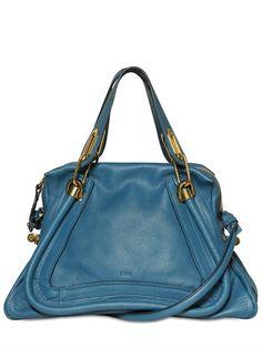 4f439843a1d Medium Paraty Grained Leather Bag Chloe Purses, Chloe Handbags, Handbags On  Sale, See
