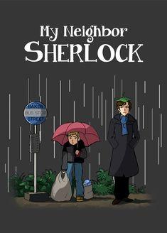 My Neighbor Sherlock by acidbetta.deviantart.com on @deviantART