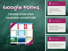 TOUCH this image: Google Forms: Choose Your Own Learning Adventure by Laura Moore (May the Forms Be With You)