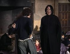 Severus Snape intimidated Hogwarts students and Harry Potter fans for years – butAlan Rickman was a world away from his character. Description from womenshealthforums.info. I searched for this on bing.com/images