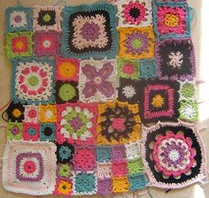 crochet - this would be great fun to put together, no?