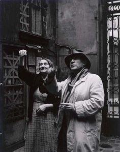 Brassaï, Picasso y su cuidadora, estudio de Grands-Augustins de 1939