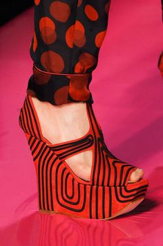 Jean Paul Gaultier Haute Couture Spring after long time...finally a shoes as a piece of art and not for your own beauty