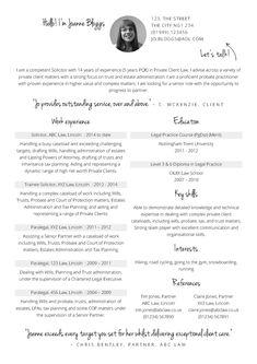 Solicitor CV template - CV Template Master
