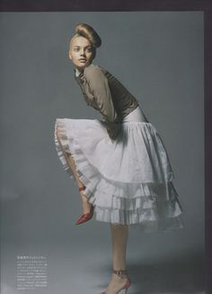 side ballerina bun