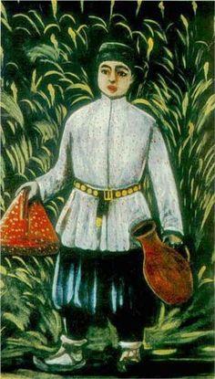 Carrying Food - Niko Pirosmani  State Art Museum of Georgia
