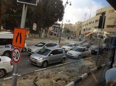 Rush hour in Jerusalam