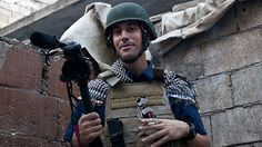 James Foley~~~ Rest in peace~ !973-2014. The extraordinary courage of wartime photojournalists who go into battle with a camera instead of a gun. They give us history. Their bravery amazes us.