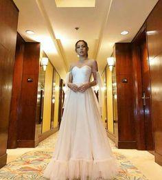 ♡ Pinterest ⇒@KristelMendoza♡ Kathryn Bernardo, Nayeon, Labs, One Shoulder Wedding Dress, Faith, Prom, Gowns, Wedding Dresses, Fashion