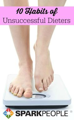 Are you at a weight loss plateau? Learn why you& not losing weight and other habits of unsuccessful dieters--so you can regain a foothold on your health and make your workout count. Health Diet, Health And Nutrition, Health And Wellness, Nutrition Articles, Weight Loss Motivation, Weight Loss Tips, Fitness Motivation, Losing Weight, Fitness Quotes