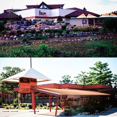 Did you know that there are 2 classic Wisconsin supper clubs (Del-Bar & Field's at the Wilderness) that were designed by a protégé of Frank Lloyd Wright in Wisconsin Dells? Unique Vacations, Wisconsin Dells, Supper Club, Lloyd Wright, Summer Travel, Wilderness, Things To Come, Around The Worlds, Bar
