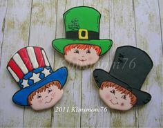 Kimsmom76: Top Hat Buddy for St. Patrick's Day