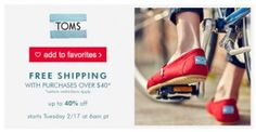 TOMS on Zulily – Sta